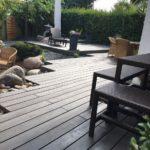 WPC Terrasse auf drei Ebenen, Holzterrasse gestalten Meister Bockelt