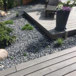 WPC Terrasse auf drei Ebenen - Springbrunnen Holzterrasse gestalten - Meister Bockelt